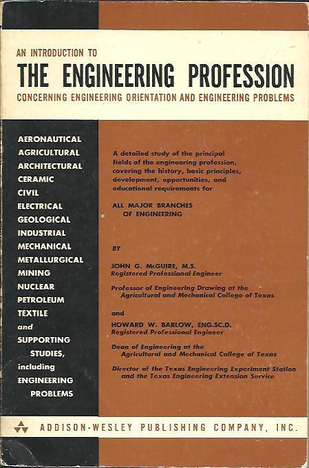 Image for INTRODUCTION TO THE ENGINEERING PROFESSION