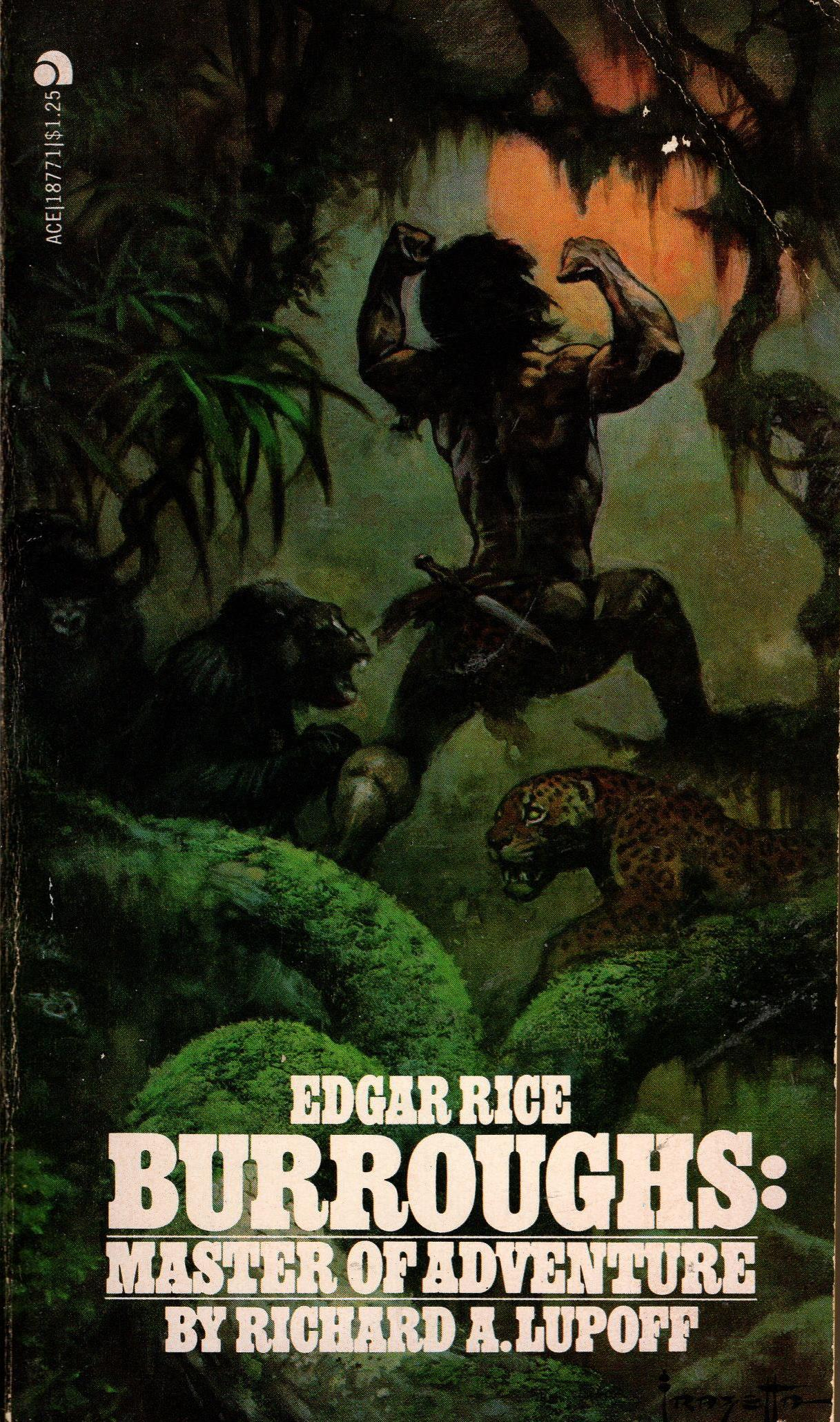 Image for EDGAR RICE BURROUGHS: MASTER OF ADVENTURE