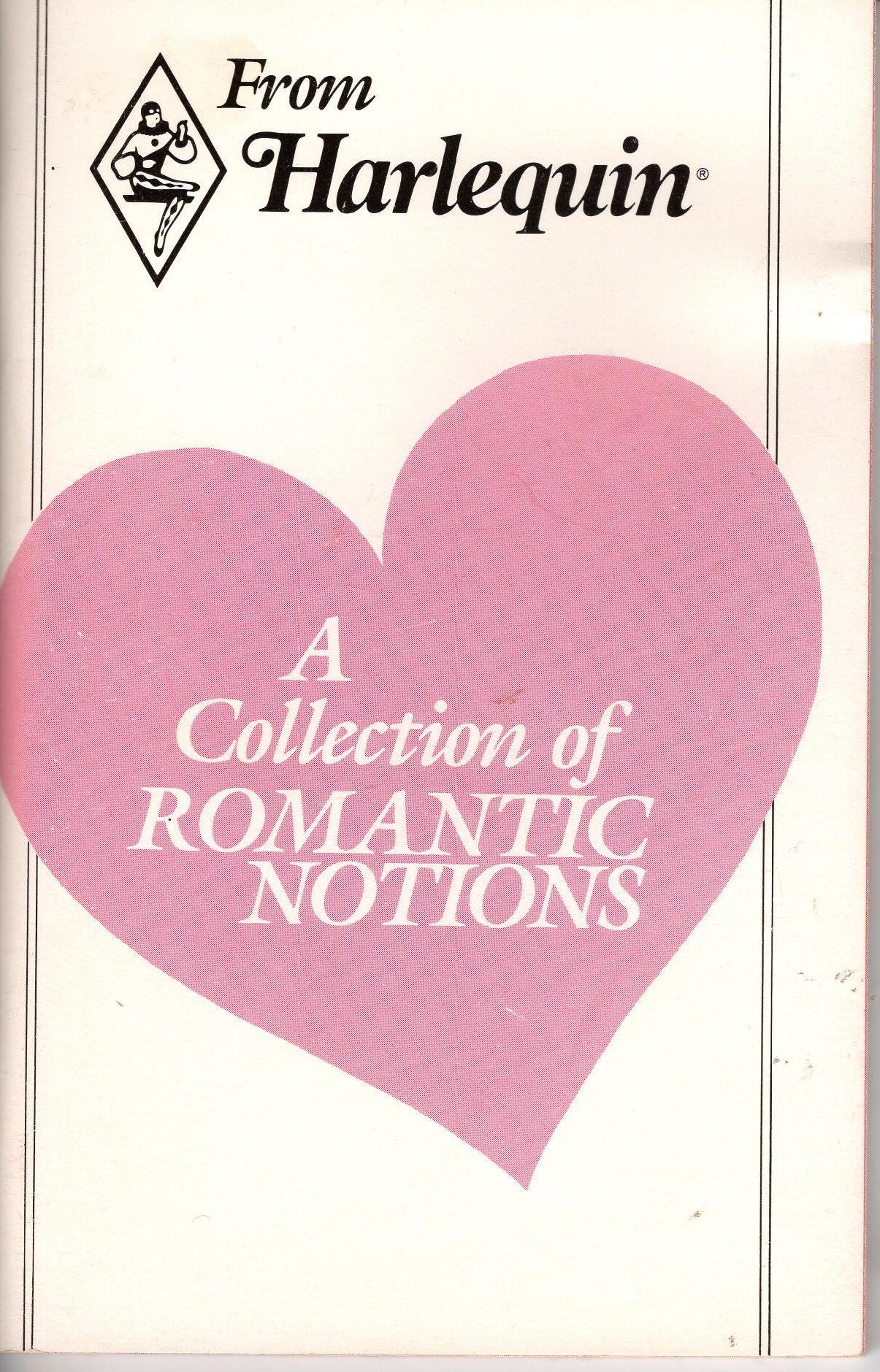 Image for COLLECTION OF ROMANTIC NOTIONS, A
