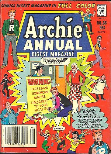 Image for ARCHIE ANNUAL COMICS DIGEST, NO. 38
