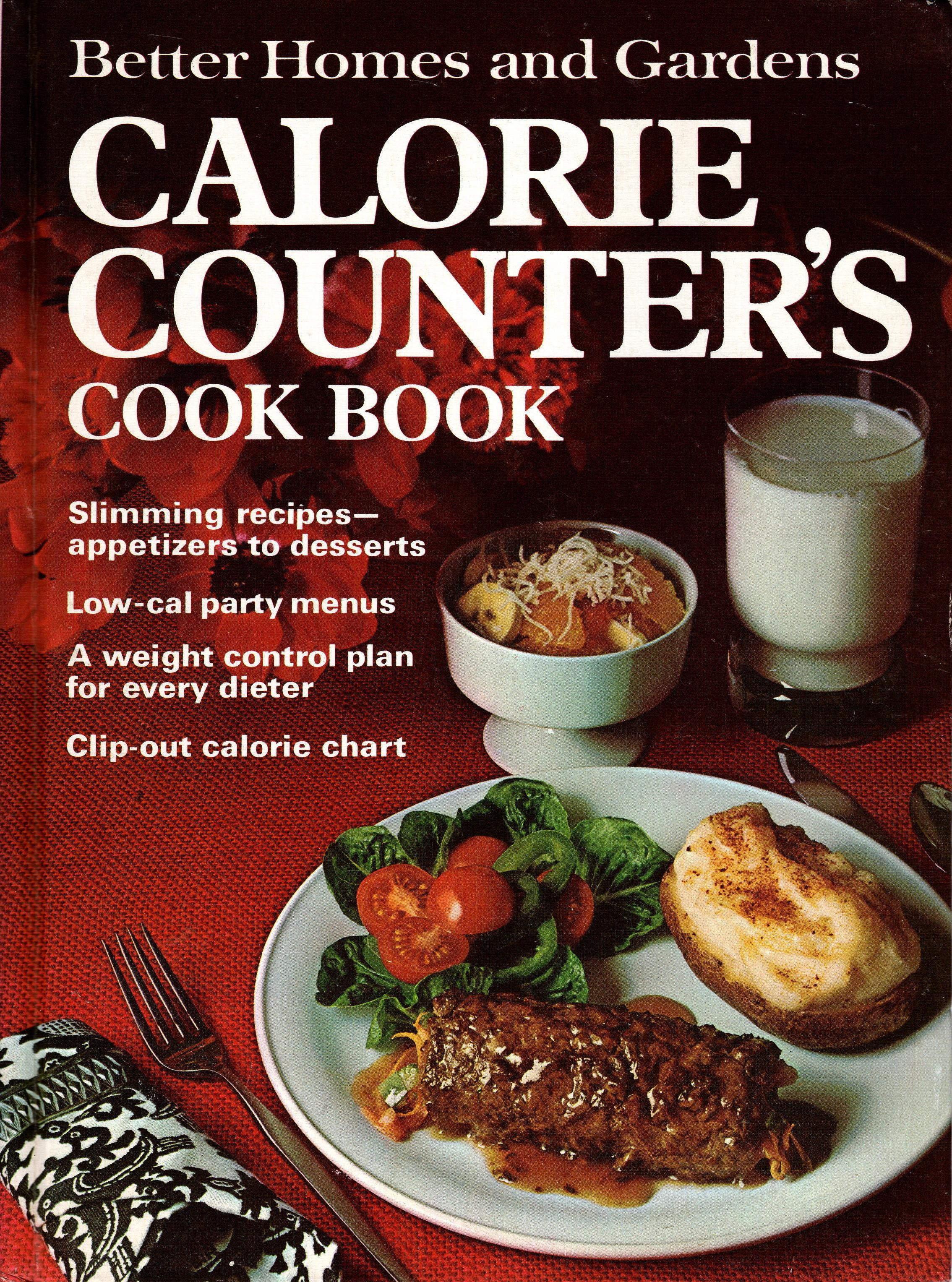 Image for BETTER HOMES AND GARDENS CALORIE COUNTER'S COOK BOOK
