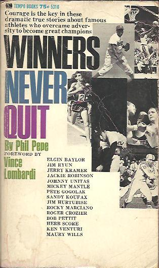 Image for WINNERS NEVER QUIT