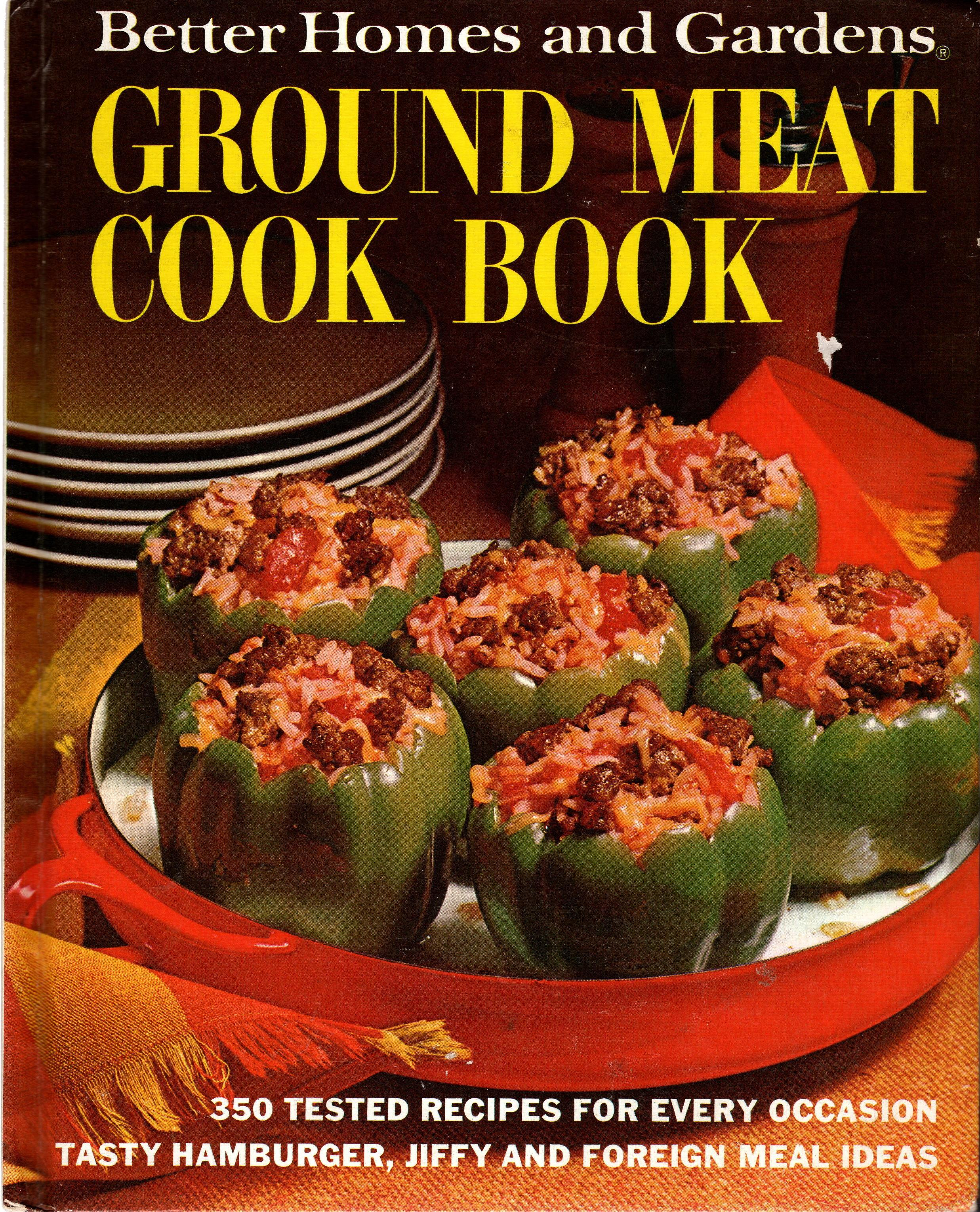 Image for BETTER HOMES AND GARDENS GROUND MEAT COOK BOOK