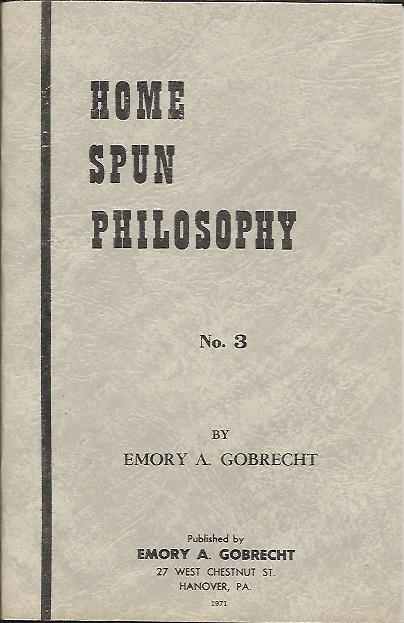 Image for HOME SPUN PHILOSOPHY NO. 3