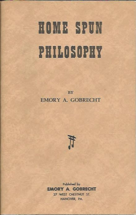 Image for HOME SPUN PHILOSOPHY