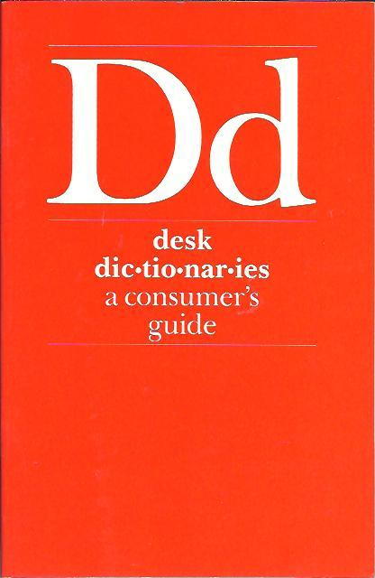 Image for DESK DICTIONARIES