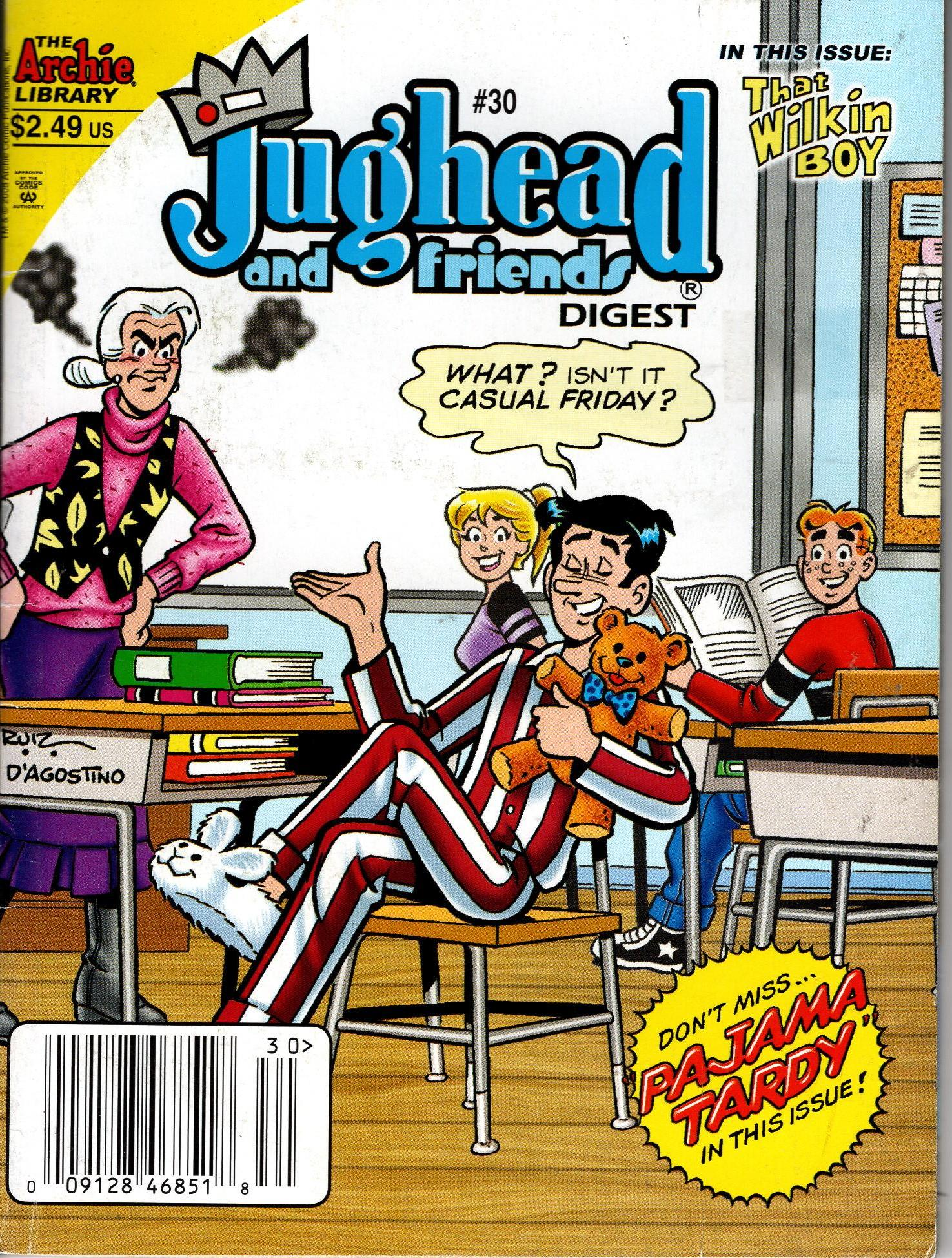 Image for JUGHEAD AND FRIENDS DIGEST NO. 30