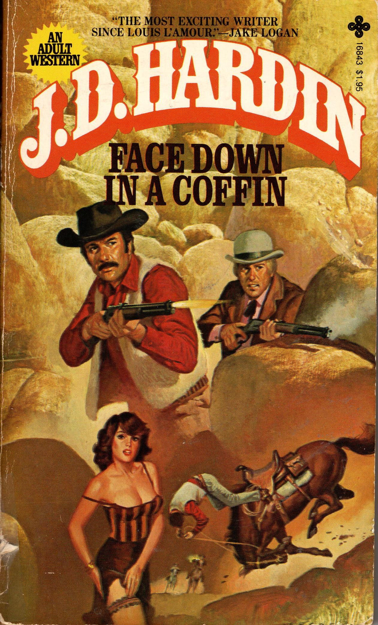 Image for FACE DOWN IN A COFFIN