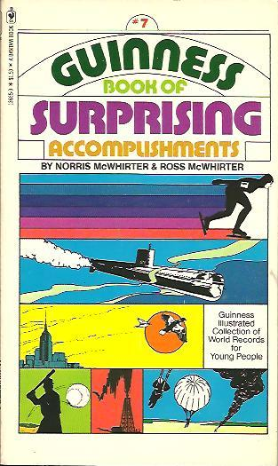 Image for GUINESS BOOK OF SUPRISING ACCOMPLISHMENTS