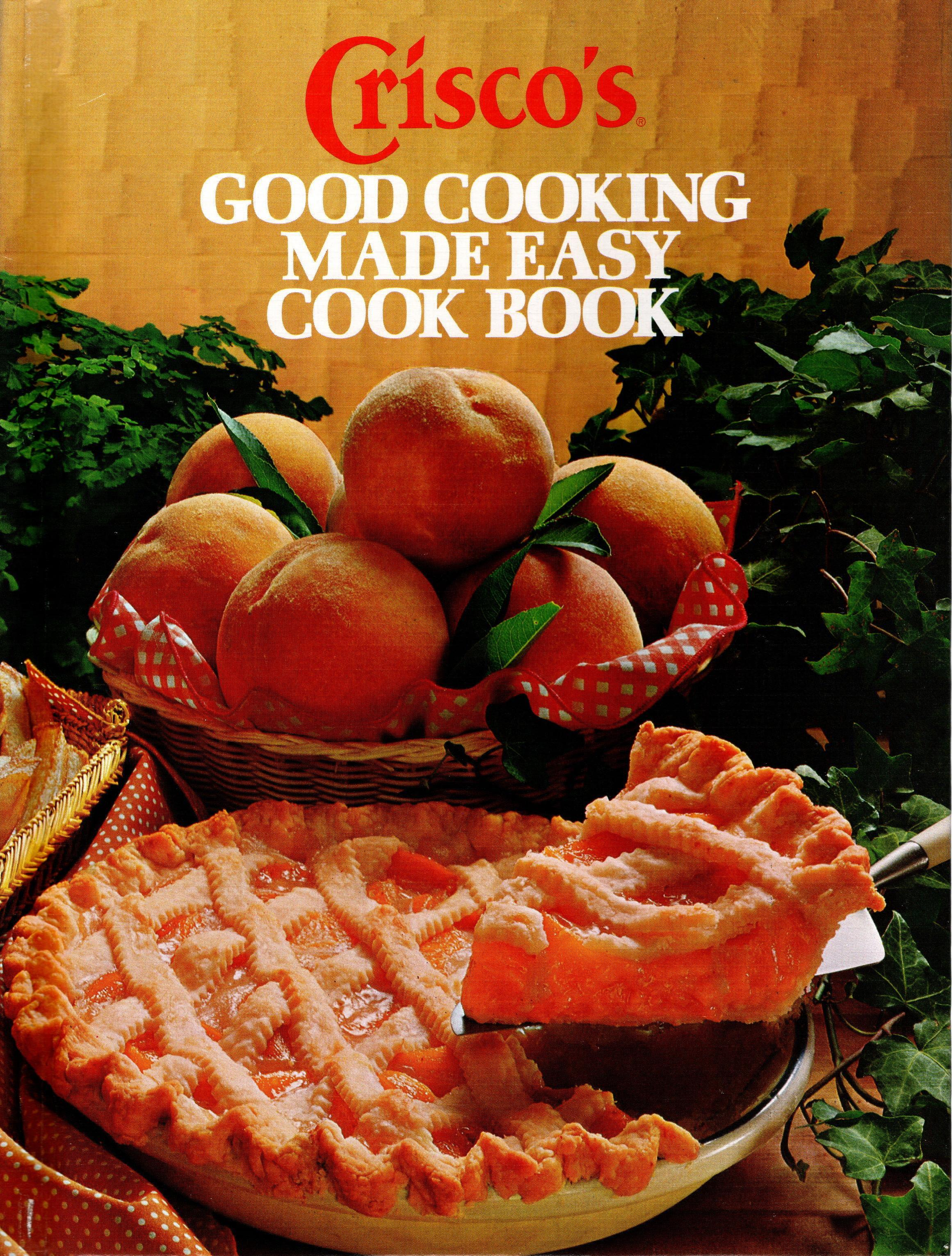 Image for CRISCO'S GOOD COOKING MADE EASY COOK BOOK