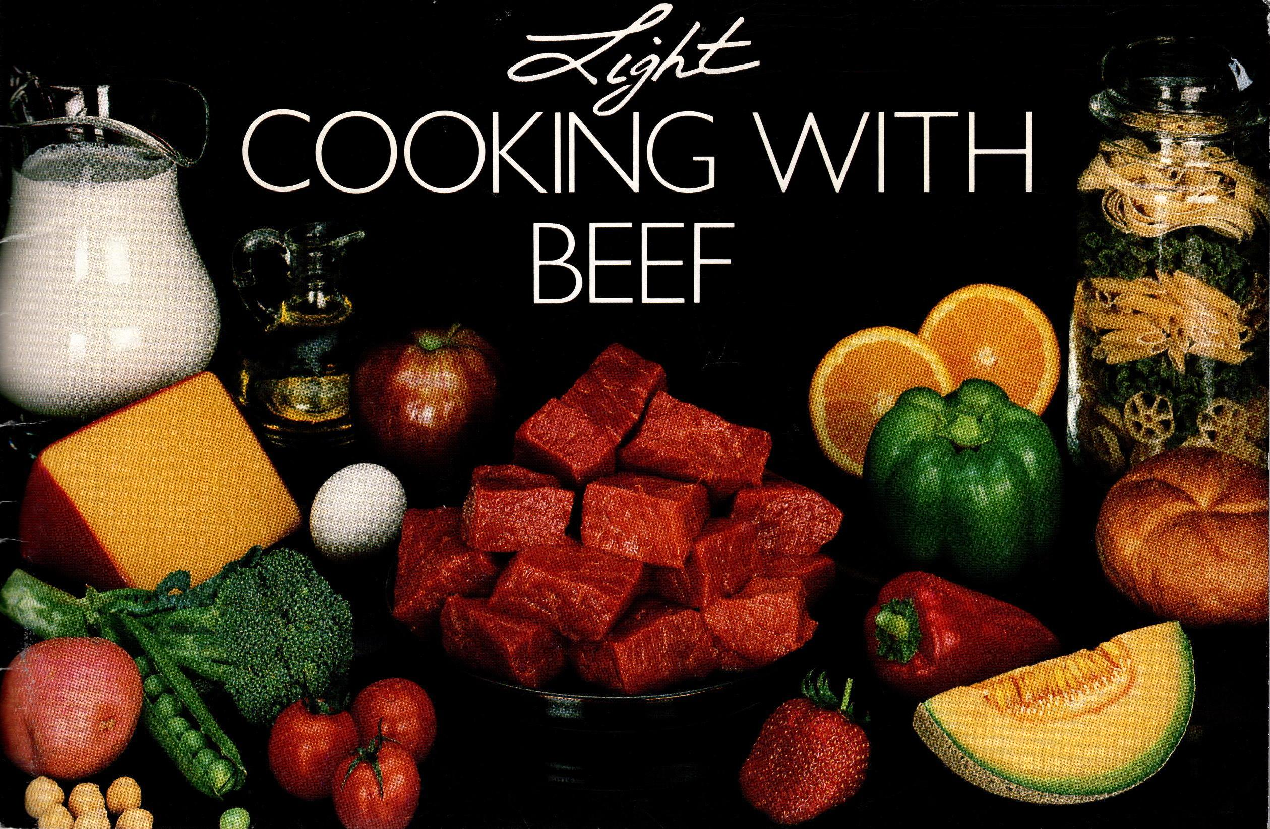 Image for LIGHT COOKING WITH BEEF