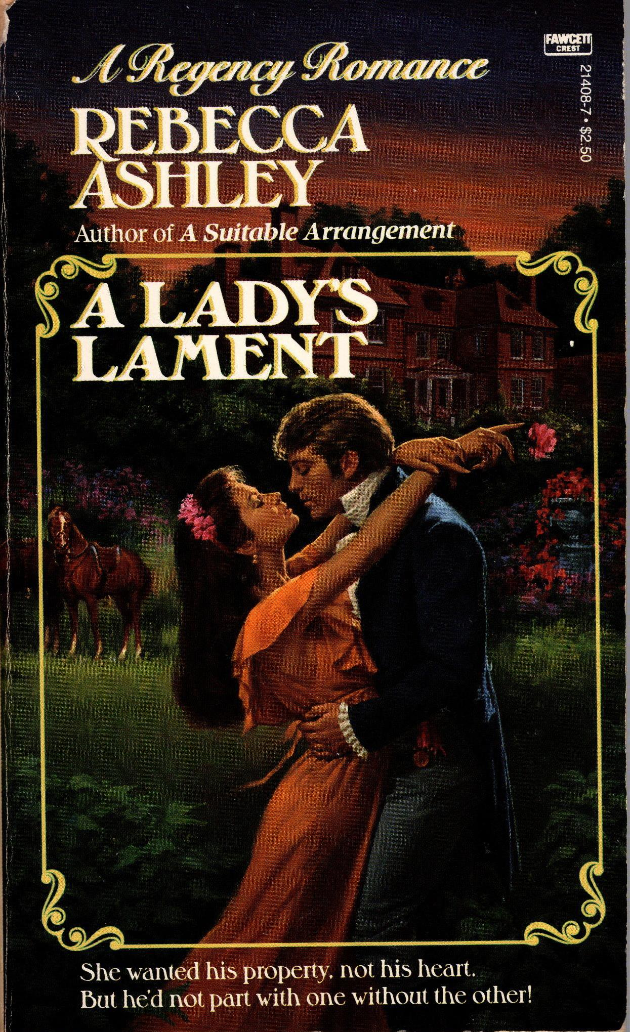 Image for LADY'S LAMENT, A