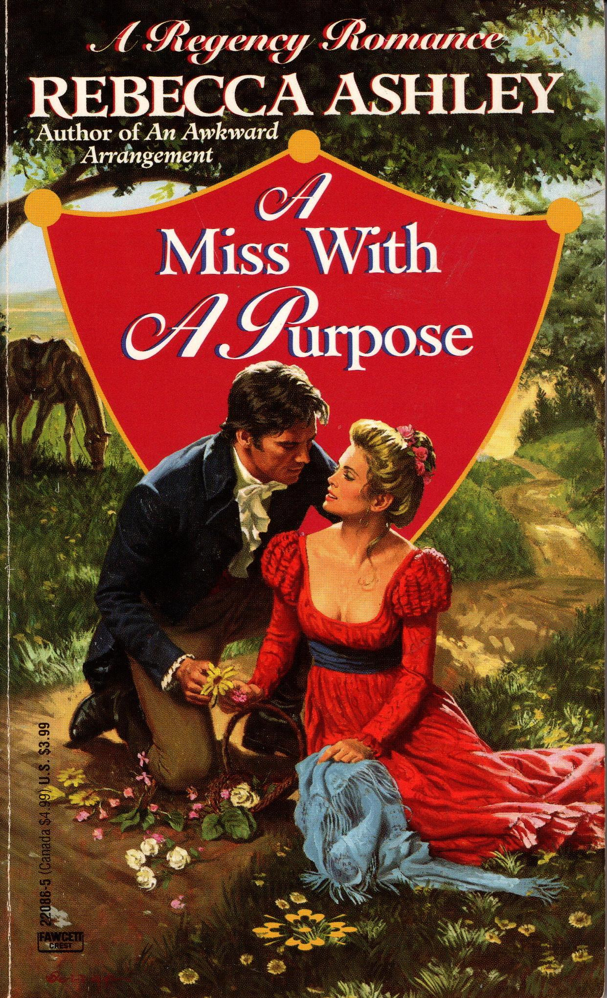 Image for MISS WITH A PURPOSE, A