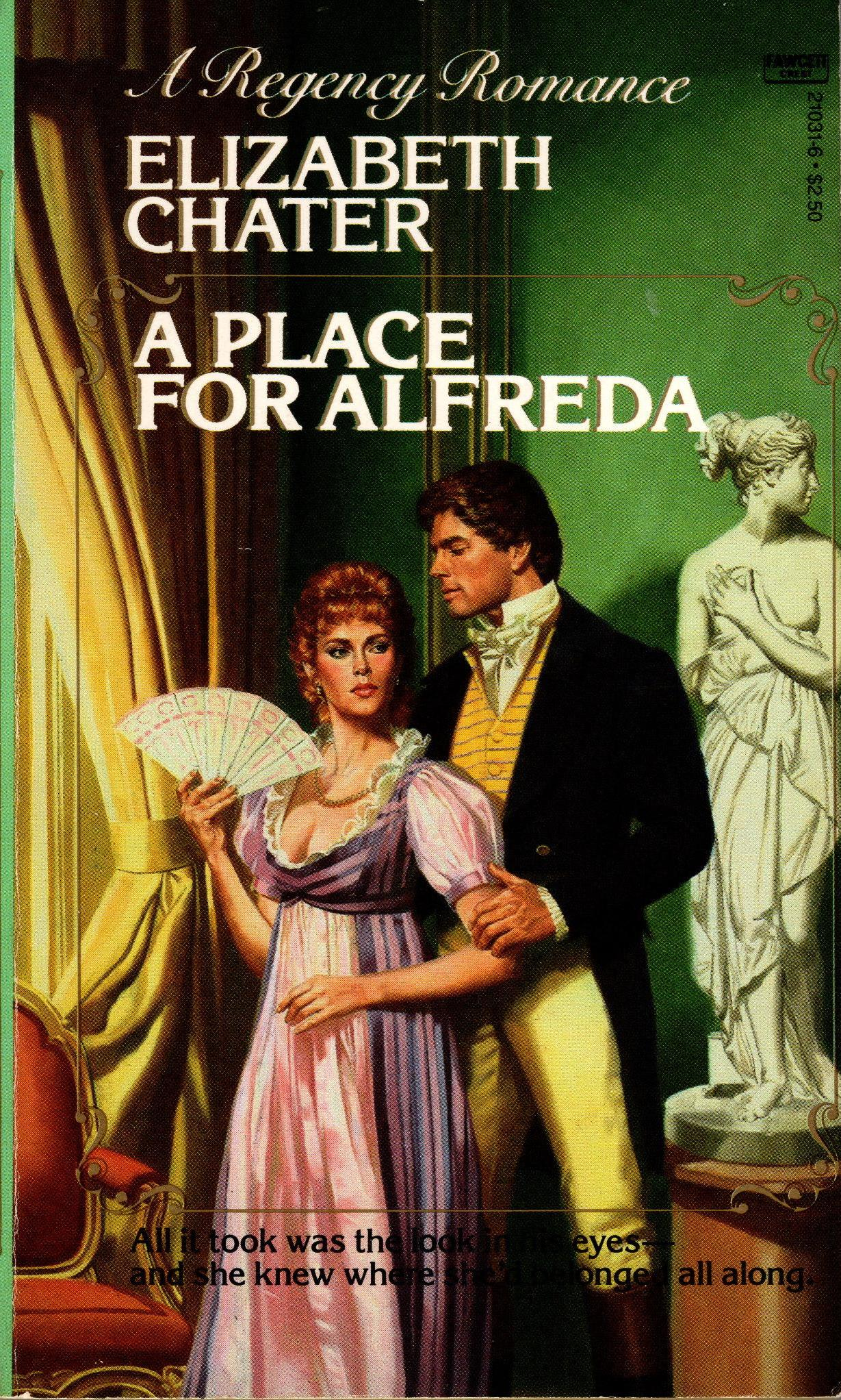 Image for PLACE FOR ALFREDA, A