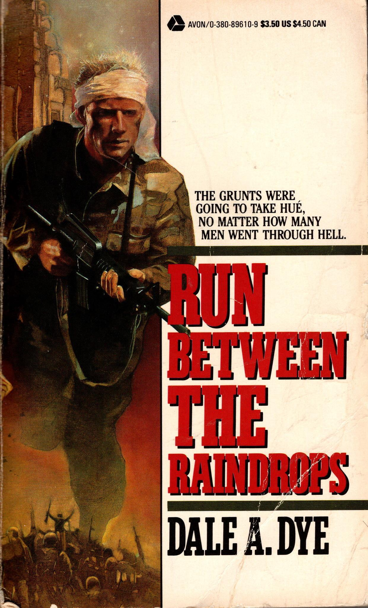 Image for RUN BETWEEN THE RAINDROPS