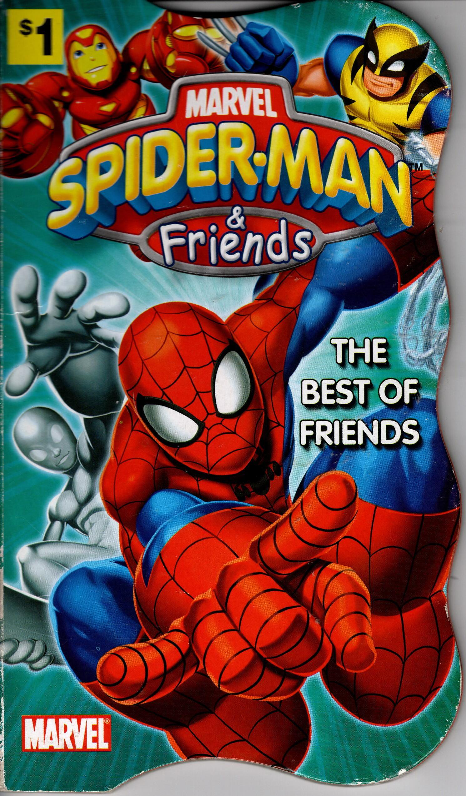 Image for SPIDER-MAN & FRIENDS: THE BEST OF FRIENDS