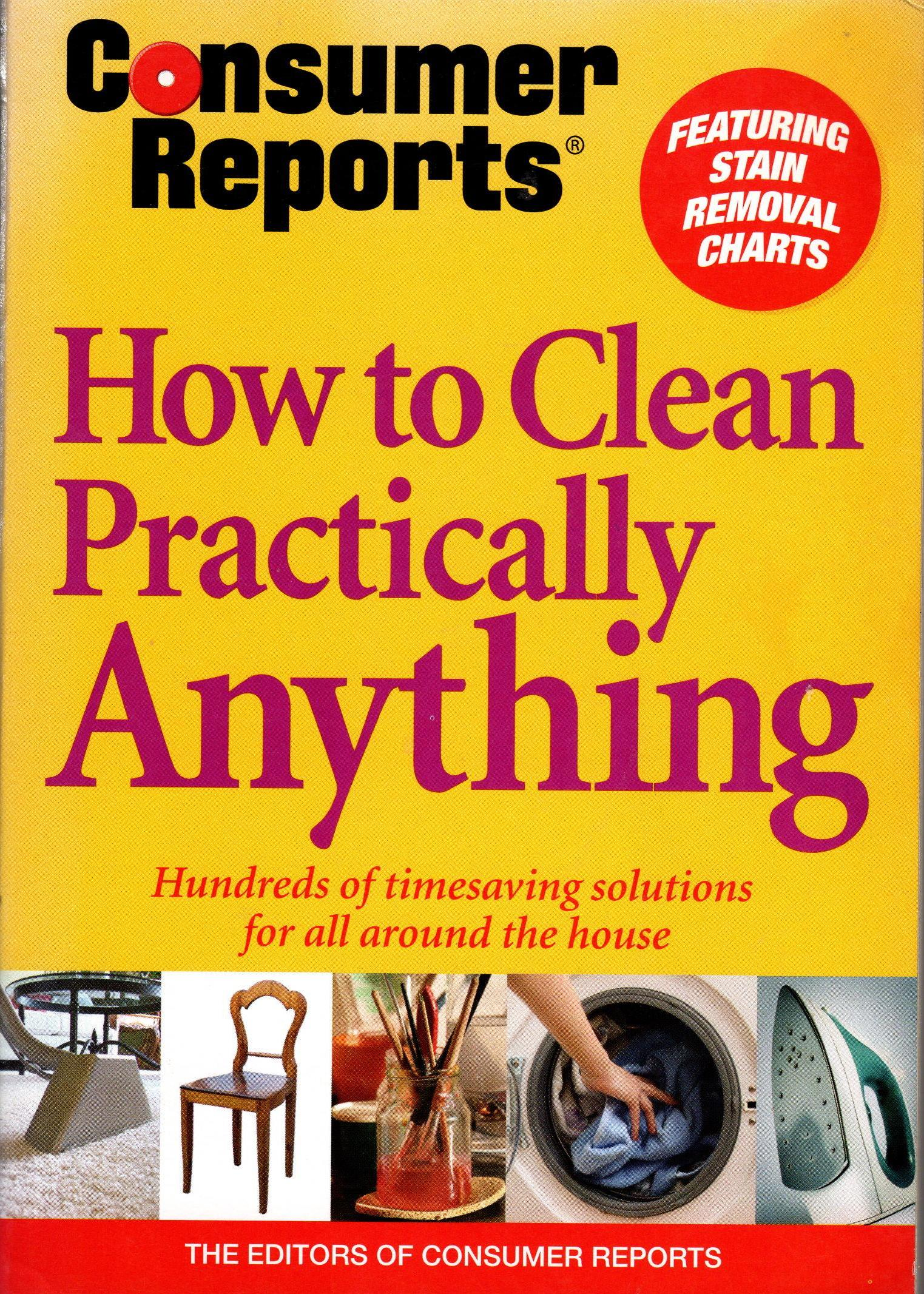 Image for HOW TO CLEAN PRACTICALLY ANYTHING