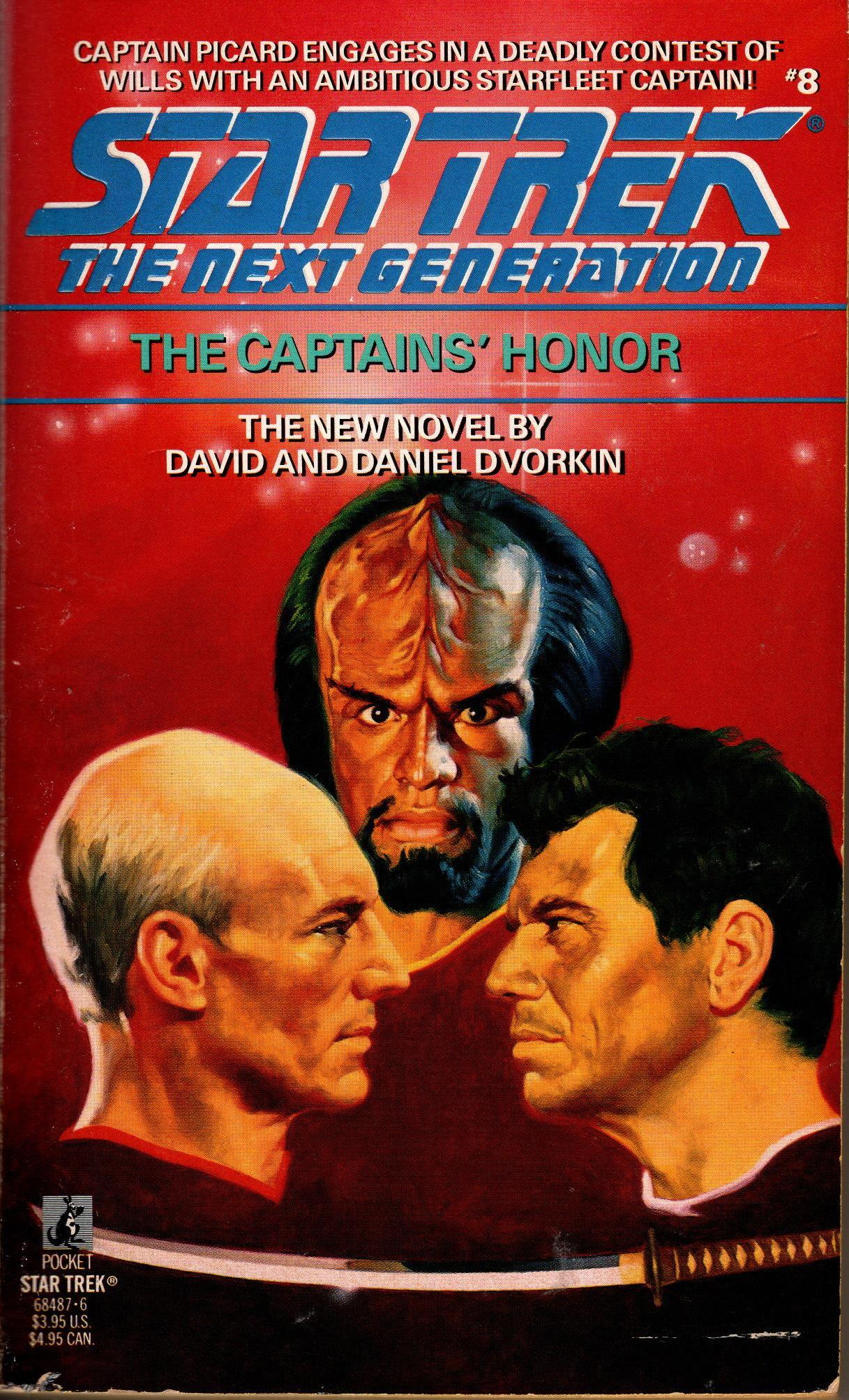 Image for STNG: CAPTAINS' HONOR, THE