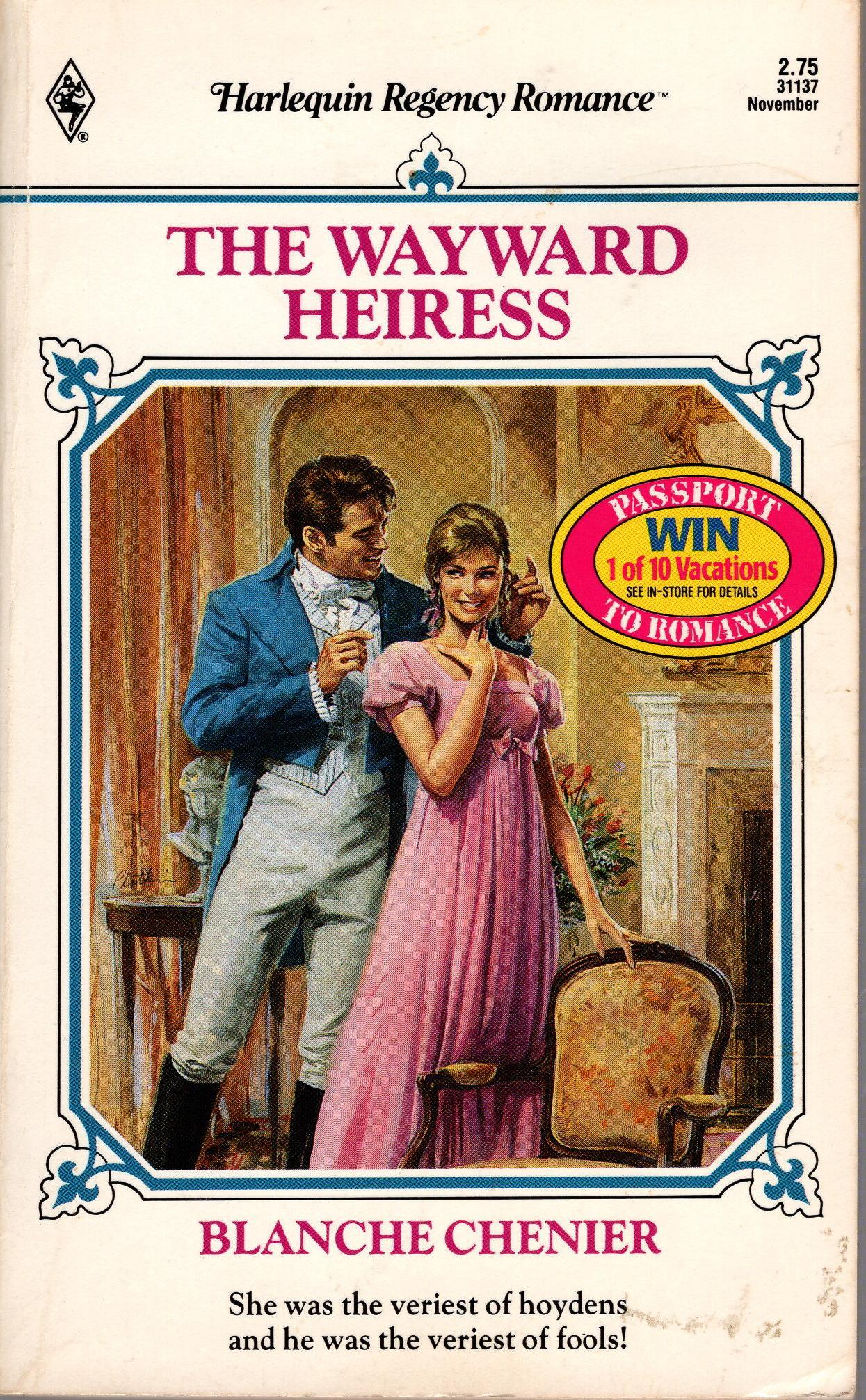 Image for WAYWARD HEIRESS, THE